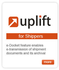 UPLIFT - for Shippers